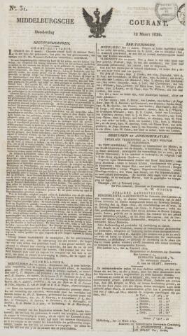 Middelburgsche Courant 1829-03-12