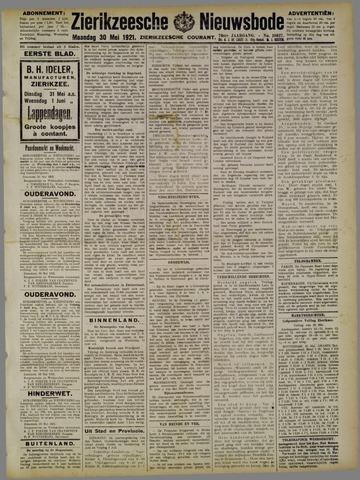 Zierikzeesche Nieuwsbode 1921-05-30