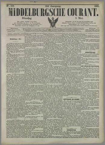 Middelburgsche Courant 1891-05-05