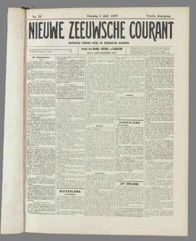 Nieuwe Zeeuwsche Courant 1908-07-07