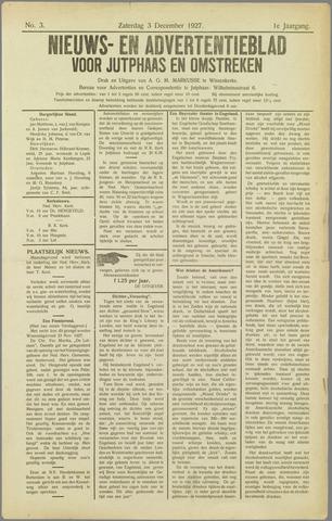 Noord-Bevelands Nieuws- en advertentieblad 1927-12-03