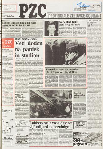 Provinciale Zeeuwse Courant 1988-03-12