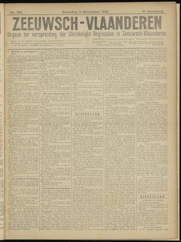 Luctor et Emergo. Antirevolutionair nieuws- en advertentieblad voor Zeeland / Zeeuwsch-Vlaanderen. Orgaan ter verspreiding van de christelijke beginselen in Zeeuwsch-Vlaanderen 1920-12-04