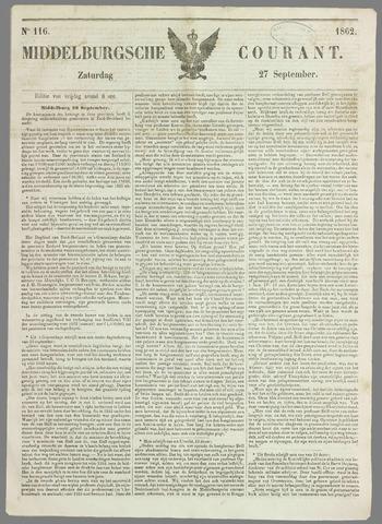 Middelburgsche Courant 1862-09-27