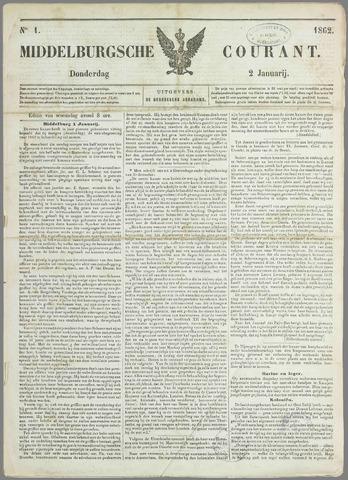 Middelburgsche Courant 1862