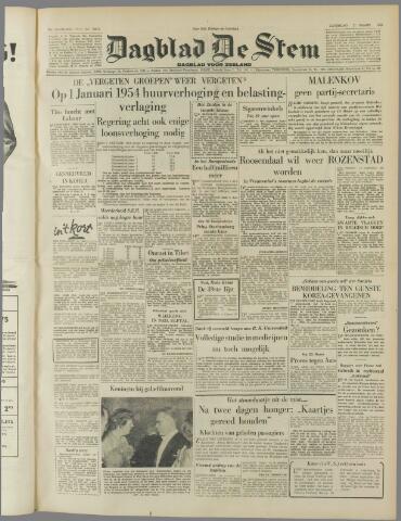 de Stem 1953-03-21