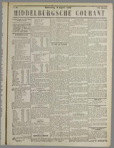 Middelburgsche Courant 1919-04-05