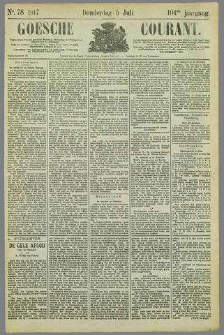 Goessche Courant 1917-07-05
