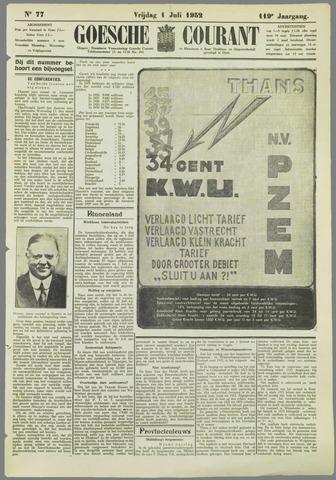 Goessche Courant 1932-07-01