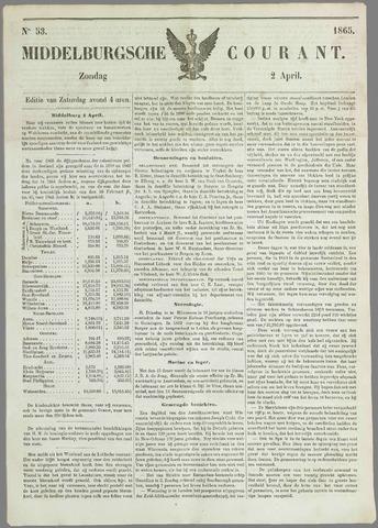 Middelburgsche Courant 1865-04-02