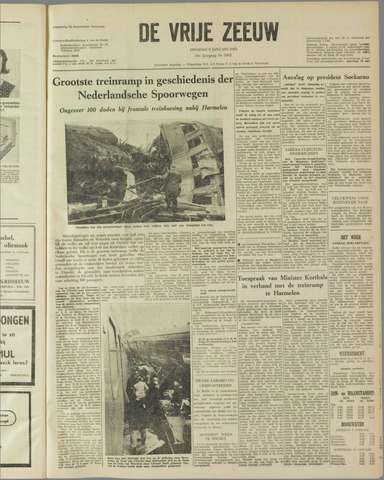 de Vrije Zeeuw 1962-01-09
