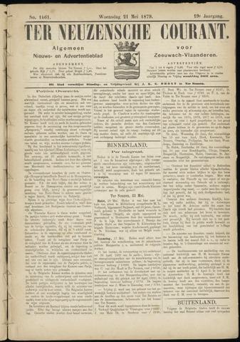 Ter Neuzensche Courant. Algemeen Nieuws- en Advertentieblad voor Zeeuwsch-Vlaanderen / Neuzensche Courant ... (idem) / (Algemeen) nieuws en advertentieblad voor Zeeuwsch-Vlaanderen 1879-05-21