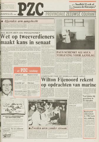 Provinciale Zeeuwse Courant 1983-12-28