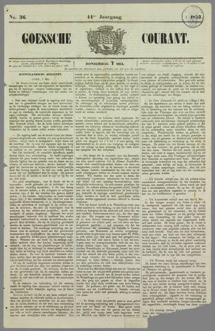 Goessche Courant 1857-05-07