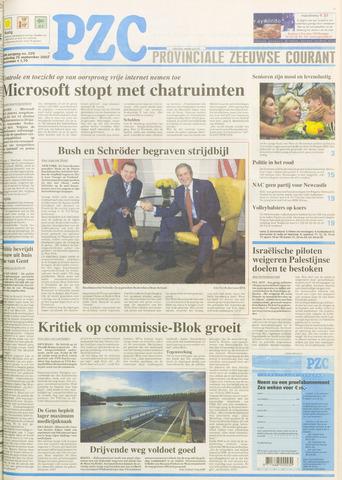 Provinciale Zeeuwse Courant 2003-09-25