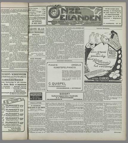 Onze Eilanden 1927-05-14