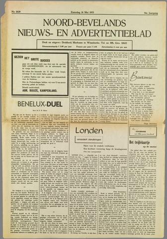 Noord-Bevelands Nieuws- en advertentieblad 1953-05-16