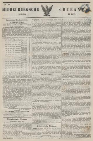 Middelburgsche Courant 1851-04-12