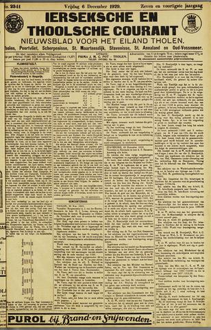 Ierseksche en Thoolsche Courant 1929-12-06
