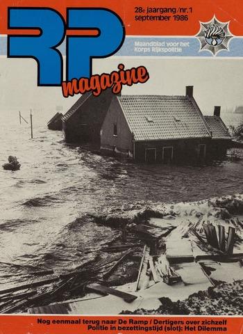 Watersnood documentatie 1953 - tijdschriften 1986-09-01