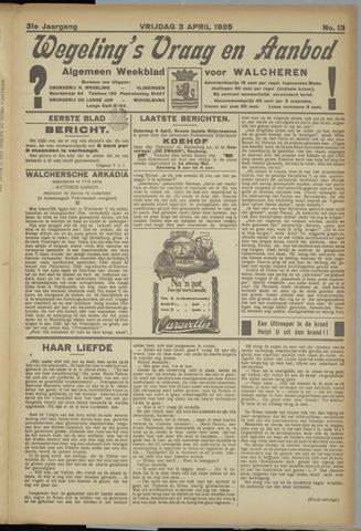 Zeeuwsch Nieuwsblad/Wegeling's Nieuwsblad 1925-04-03