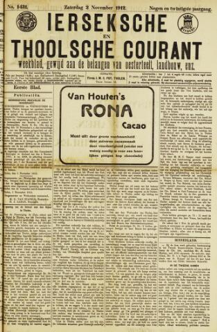 Ierseksche en Thoolsche Courant 1912-11-02