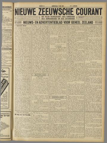 Nieuwe Zeeuwsche Courant 1931-05-07