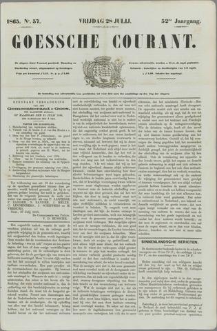 Goessche Courant 1865-07-28