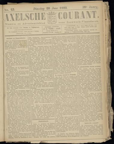 Axelsche Courant 1922-06-20