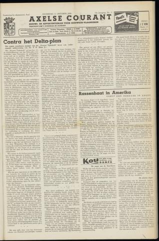 Axelsche Courant 1958-10-11