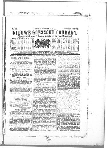Nieuwe Goessche Courant 1879-11-21
