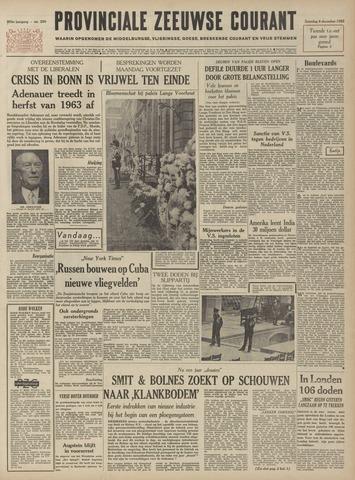 Provinciale Zeeuwse Courant 1962-12-08