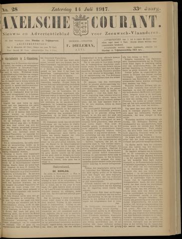 Axelsche Courant 1917-07-14