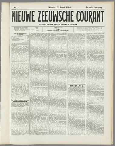 Nieuwe Zeeuwsche Courant 1906-03-27