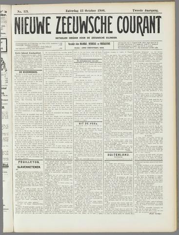 Nieuwe Zeeuwsche Courant 1906-10-13