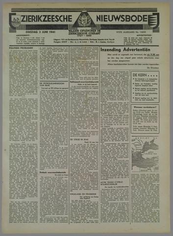 Zierikzeesche Nieuwsbode 1941-06-03