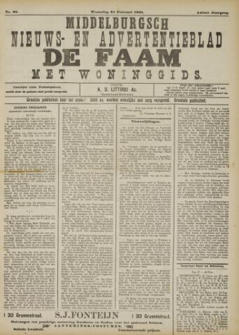 de Faam en de Faam/de Vlissinger 1904-02-24