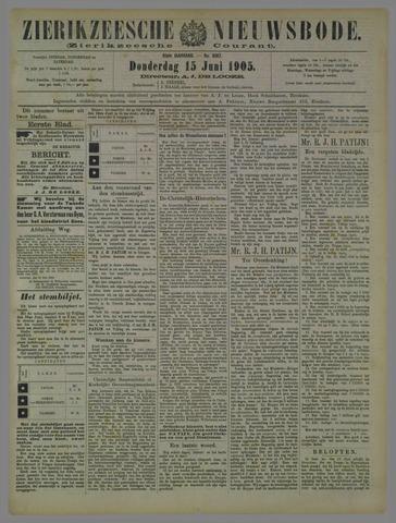 Zierikzeesche Nieuwsbode 1905-06-15