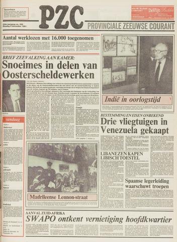 Provinciale Zeeuwse Courant 1981-12-08
