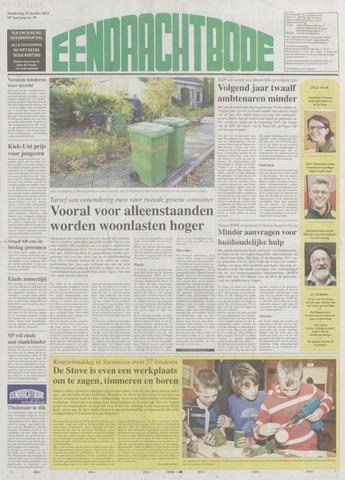 Eendrachtbode (1945-heden)/Mededeelingenblad voor het eiland Tholen (1944/45) 2012-10-25