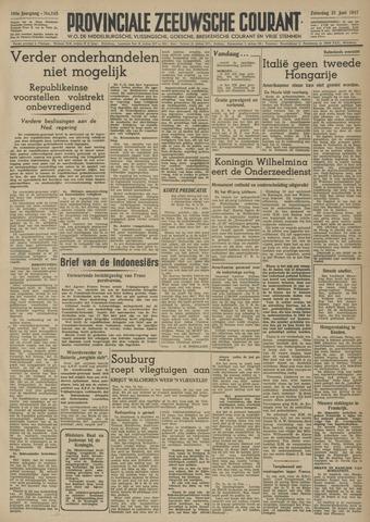 Provinciale Zeeuwse Courant 1947-06-21