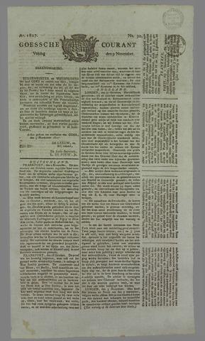 Goessche Courant 1827-11-09
