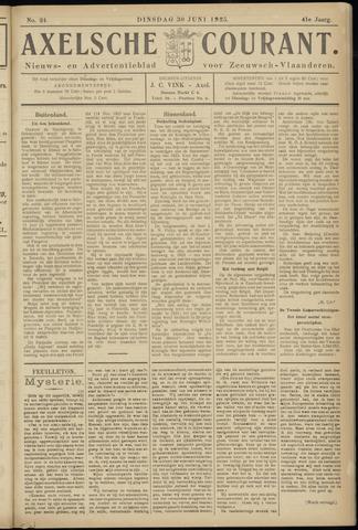 Axelsche Courant 1925-06-30