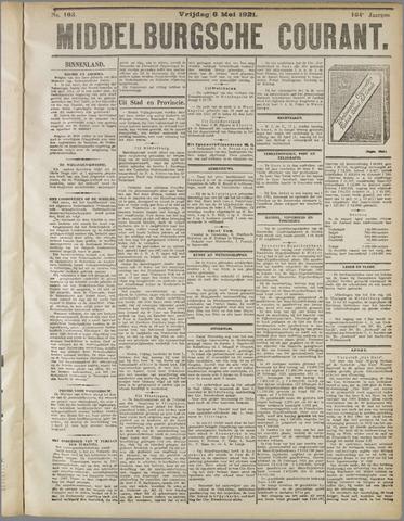 Middelburgsche Courant 1921-05-06
