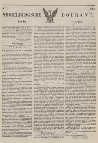 Middelburgsche Courant 1869-01-05