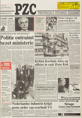 Provinciale Zeeuwse Courant 1985-11-29
