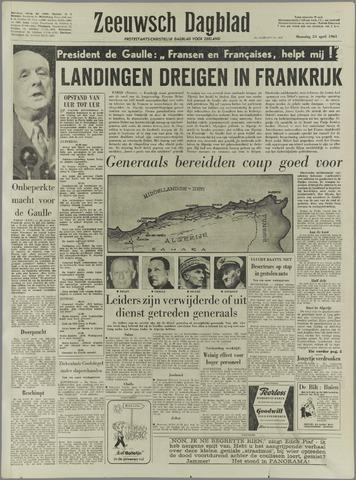 Zeeuwsch Dagblad 1961-04-24