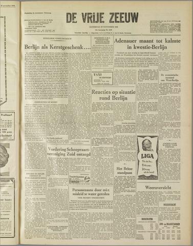 de Vrije Zeeuw 1958-11-29