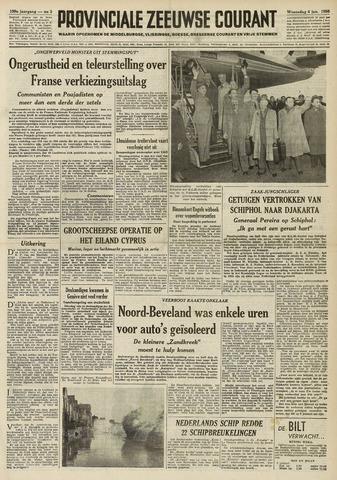 Provinciale Zeeuwse Courant 1956-01-04
