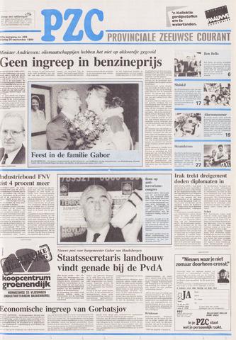 Provinciale Zeeuwse Courant 1990-09-28